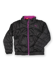 Puma Kids Black Padded Jacket