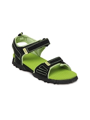 Puma Kids Black Photon Jr Ind. Sandals