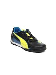 Puma Kids Black Velize II TT Jr Casual Shoes
