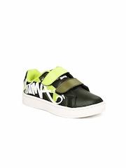 Puma Kids Dark Green James Cat II DP Casual Shoes