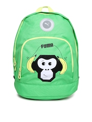 Puma Kids Green Primary Backpack