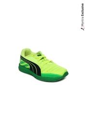 Puma Kids Neon Yellow Faas 300 V3 Jr Sports Shoes