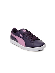 Puma Kids Purple Archive Lite L Casual Shoes
