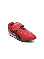 Puma Kids Red Wiki Jr Casual Shoes