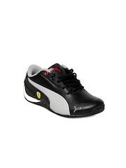 Puma Kids Unisex Black & Grey Drift Cat 5 L SF Jr Sports Shoes