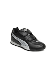 Puma Kids Unisex Black Wirko Jr Casual Shoes
