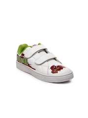 Puma Kids White James Jr Casual Shoes