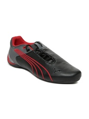 Puma Men Black & Grey Future Cat M2 Weave Casual Shoes