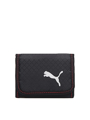 Puma Men Black Apex Wallet