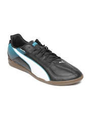 Puma Men Black Esquadra IT Indoor Sports Shoes
