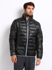 Puma Men Black Padded Jacket