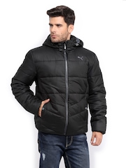 Puma Men Black Padded Jacket