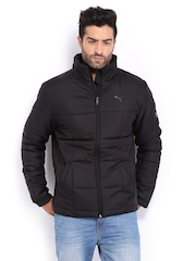 Men Black Padded Jacket Puma 372373