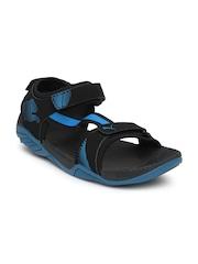Puma Men Black Sports Sandals