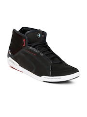 Puma Men Black Street Tuneo Mid BMW Casual Shoes