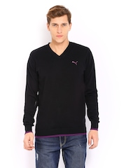 Puma Men Black Sweater