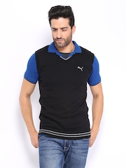 Puma Men Black Sweater
