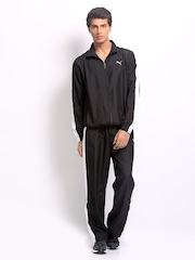 Puma Men Black Track Suit