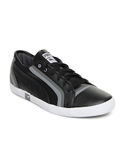 Puma Men Black Volley Casual Shoes