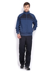 Puma Men Blue & Navy Tracksuit