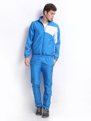 Fila Men Blue & White Tracksuit