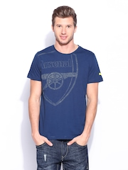 Puma Men Blue AFC Graphic T-shirt