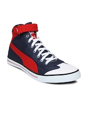 Puma Men Insignia Blue & Red Casual Shoes