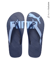 Puma Men Blue Flip-Flops