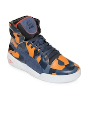 Puma Men Blue MMQ Slipstream Cammo Casual Shoes
