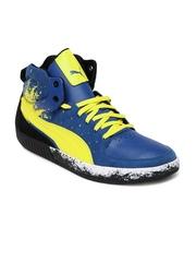 Puma Men Blue Street Mid Mechanic S Casual Shoes