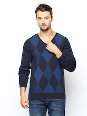 Puma Men Blue Sweater