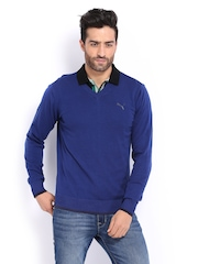 Puma Men Blue Sweater