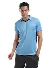 Puma Men Tournament Polo Blue T-shirt