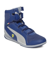 Puma Men Blue Valorosso Mid Sf WebCage Sports Shoes