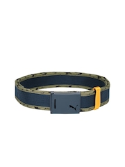 Puma Men Blue Webbing Belt