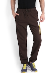Puma Men Brown Track Pants
