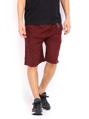 Hanes Men Burgundy Shorts