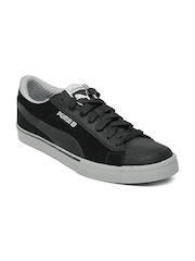 Puma Men S Low City Black Casual Shoes