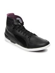 Puma Men Black Driving Power 2 Mid Sneakers