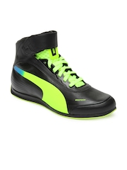 Puma Men Black EvoSpeed 1.2 Mid Casual Shoes
