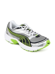 Puma Men Silver Axis II Sports Shoes