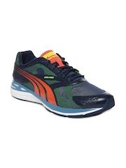 Puma Men Dark Blue Bioweb Speed Sports Shoes