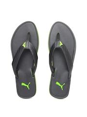 PUMA Men Black Ketava II Flip-Flops