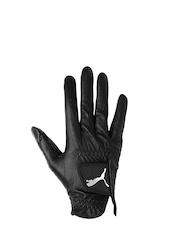 PUMA Men Black Pro Performance Right Leather Glove