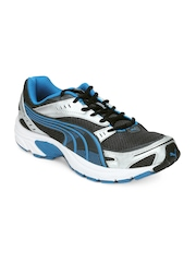 Puma Men Grey Axis II Ind Sports Shoes