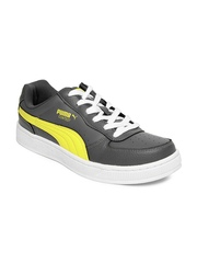 Puma Men Grey Contest Lo Ind Casual Shoes
