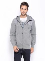 Puma Men Grey Melange Jacket