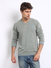 Puma Men Grey Sweater
