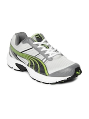 Puma Men Grey Vectone DP Running Shoes