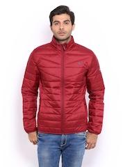 Puma Men Red Padded Jacket